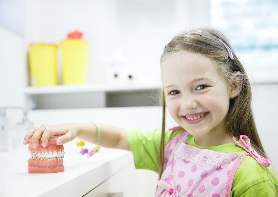 Apparecchi dentali per bambini a Catania